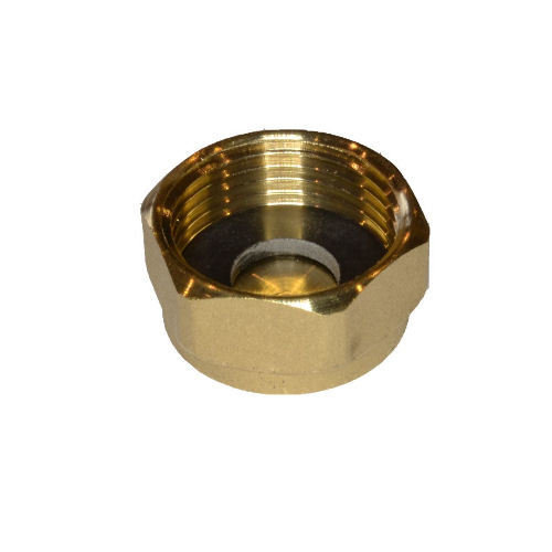 Copper Compression Cap Nut