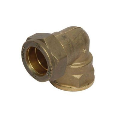 Copper Compression Elbow Combination Female