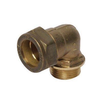 Copper Compression Elbow Combination Male