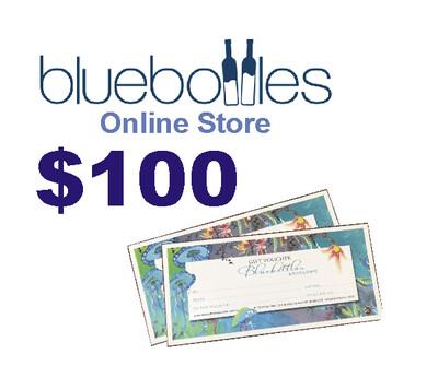 Bluebottles Gift Voucher - $100.00