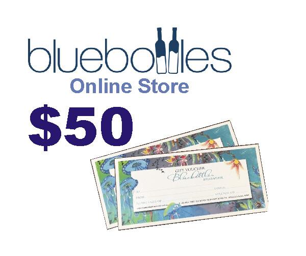 Bluebottles Gift Voucher - $50.00