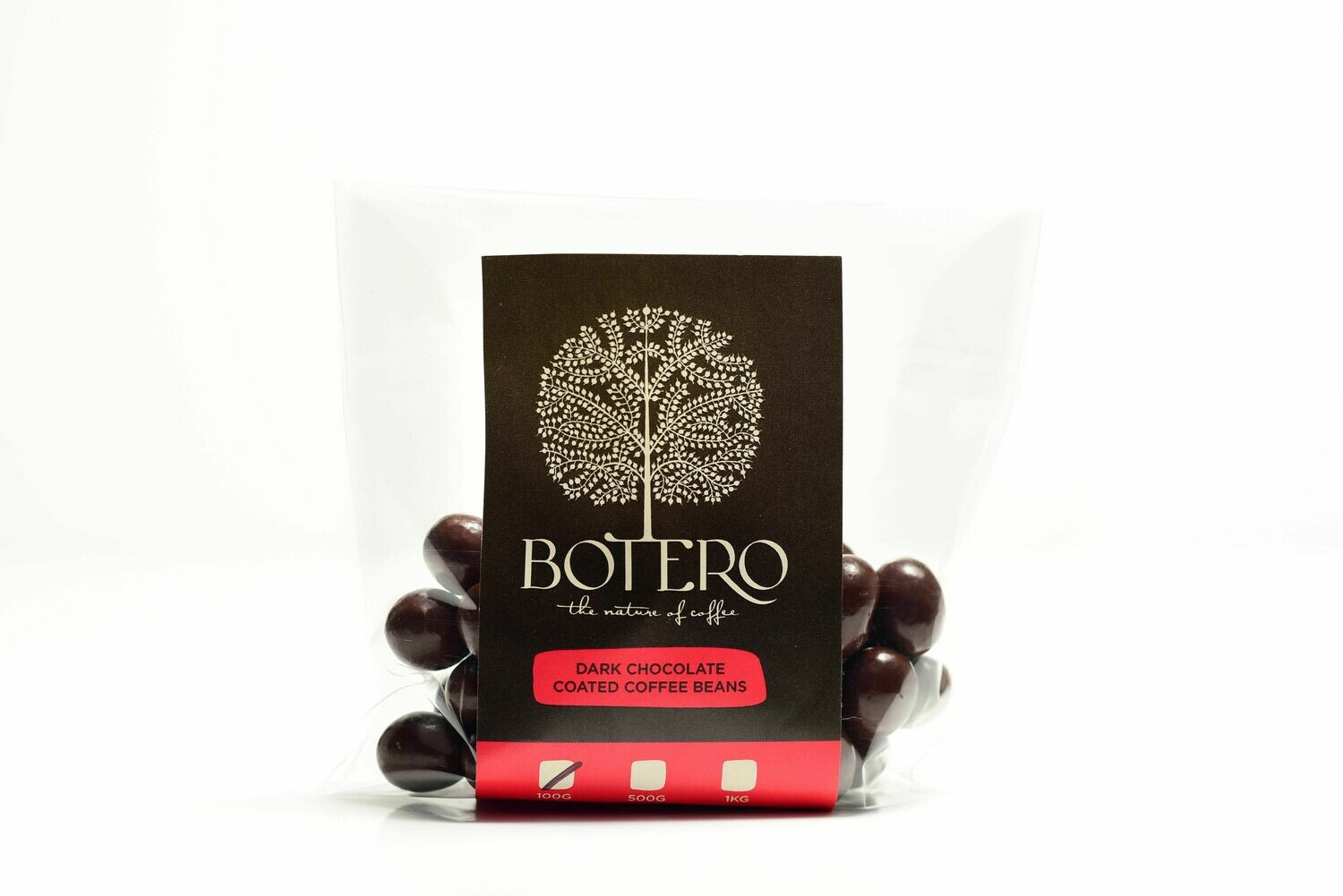 Botero Dark Choc Coated Coffee Beans 100g