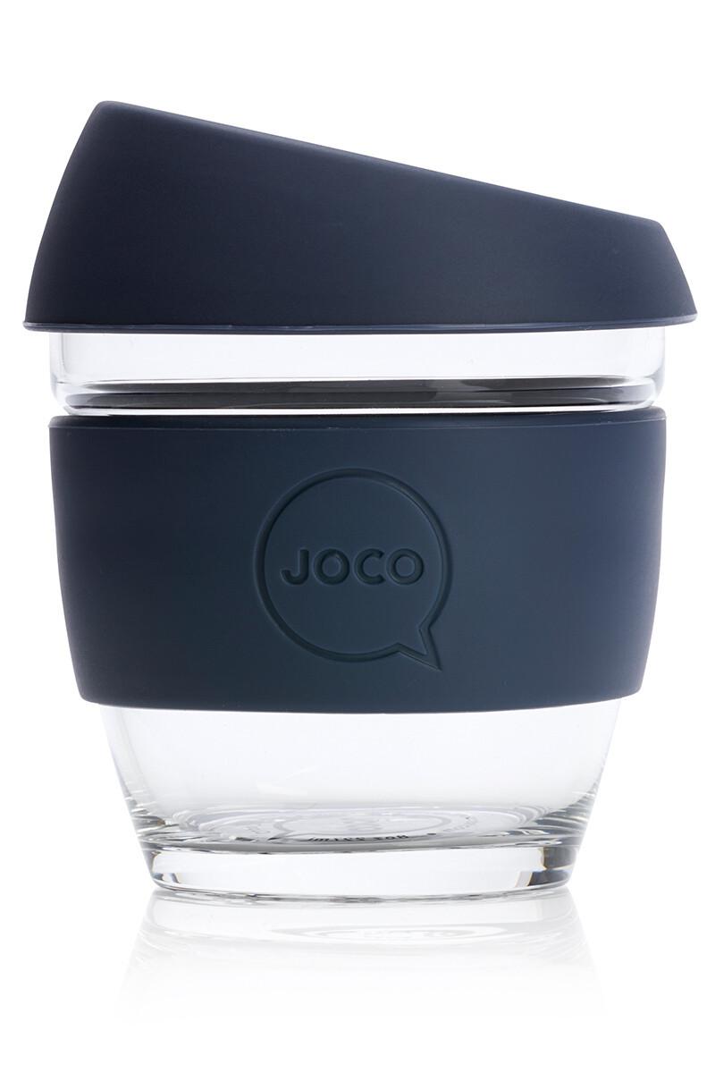 JOCO 8oz Reusable Glass Cup (Small Cup Size) – Mood Indigo