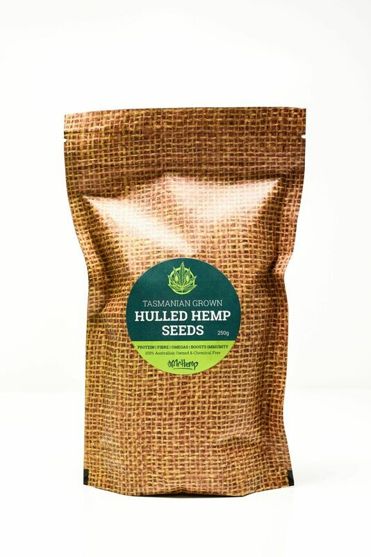 Mr Hemp Tasmanian Grown Organic Hulled Hemp Seeds 500g