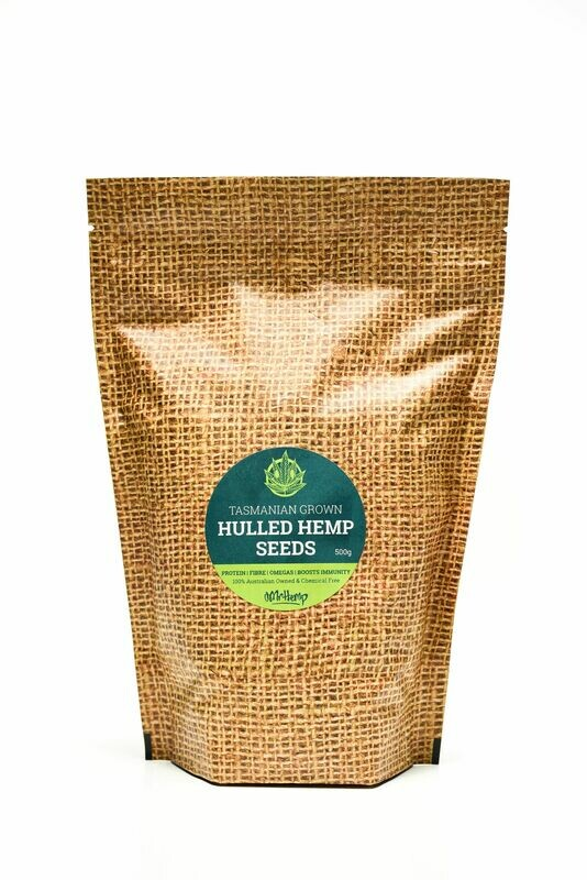 Mr Hemp Tasmanian Grown Organic Hulled Hemp Seeds 250g