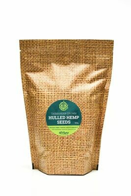 Mr Hemp Tasmanian Grown Organic Hulled Hemp Seeds 250g