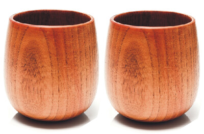 Bluebottles Wooden Cup - Twin Pack
