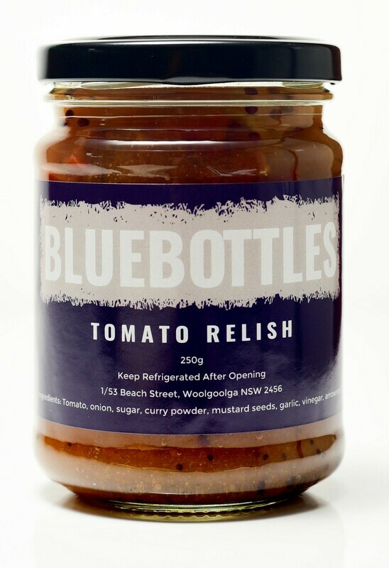 Bluebottles House-made Tomato Relish 250g