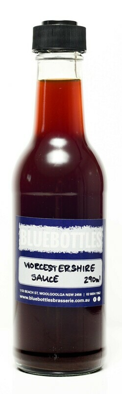 Bluebottles House-made Worcestershire Sauce 290ml