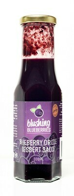 Blushing Blueberries Blueberry Drizzle Dessert Sauce 250ml