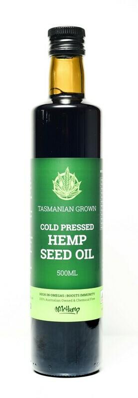 Mr Hemp Tasmanian Grown Hemp Seed Oil 500ml