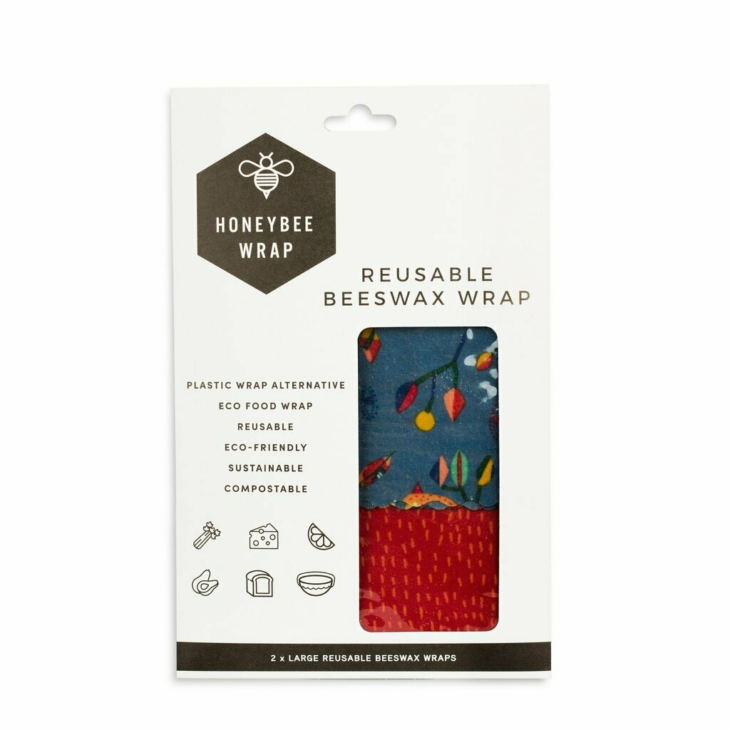 Honeybee Wraps - Large Wrap (Twin Pack)
