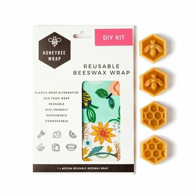 Honeybee Wraps - Beeswax DIY Kit