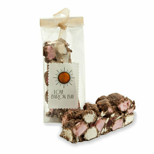 Love Byron Bay Rocky Road - Milk Chocolate 200g
