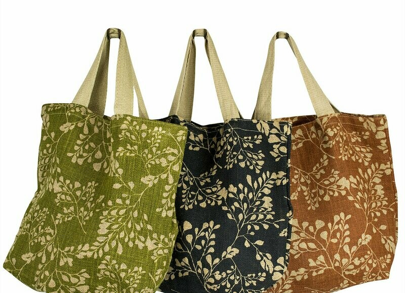 Apple Green Duck - Jute Grocer Bag (Various Designs)