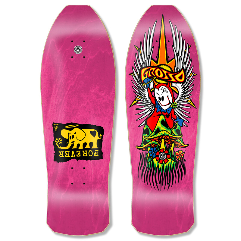 """Black Label GROSSO """"FOREVER"""" 1989 reissue (Pink)"""