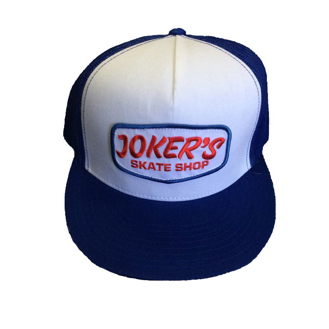 Jokers Classic Logo Patch Mesh Hat Navy