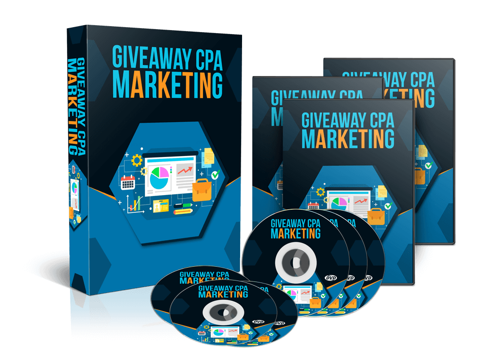 Giveaway CPA Marketing - Video Course Lessons