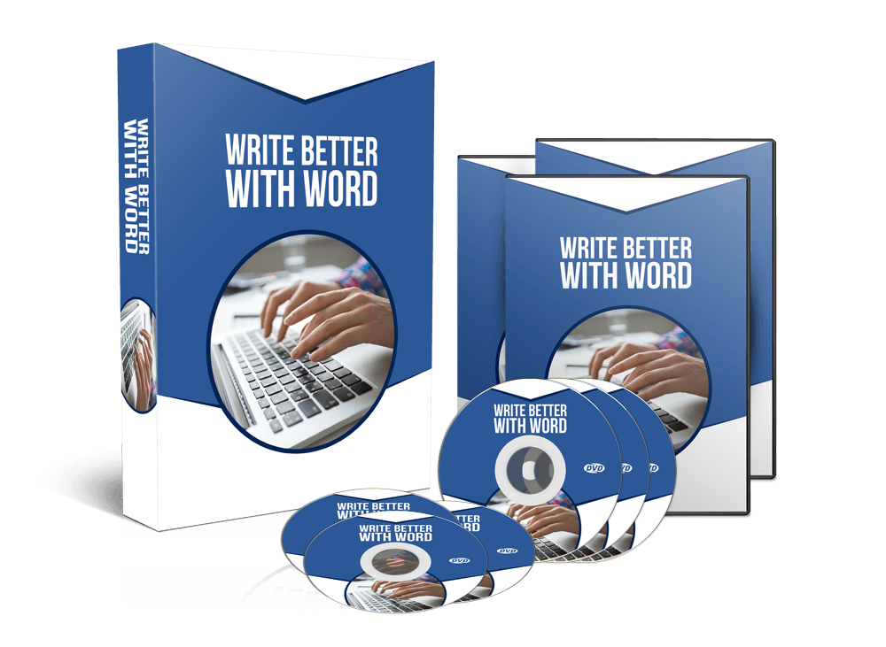 How To Write Better & Faster Using MS Word, Video Training Lessons