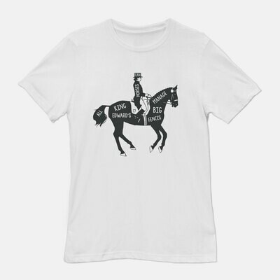 Dressage All King Edward's Horses Tee