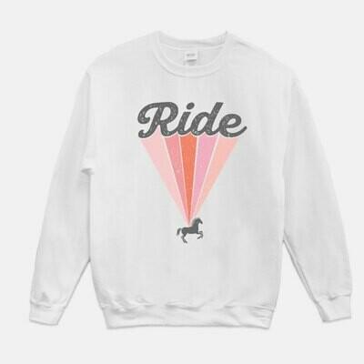 Retro Ride Equestrian Sweatshirt