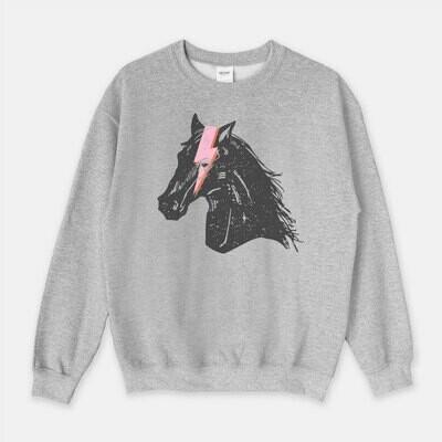 My Horse is a Rockstar Equestrian Sweatshirt