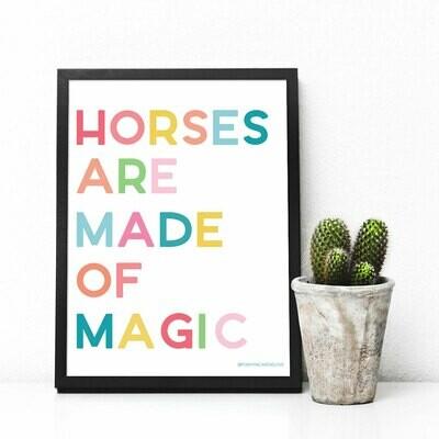 Horses Are Made of Magic Digital Download 8x10 print
