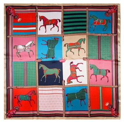 Horses and Horses Scarf