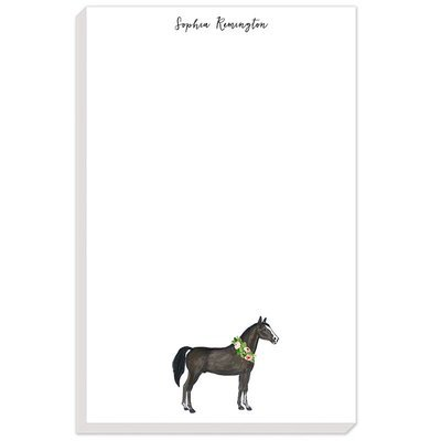 Watercolor Horse Notepad