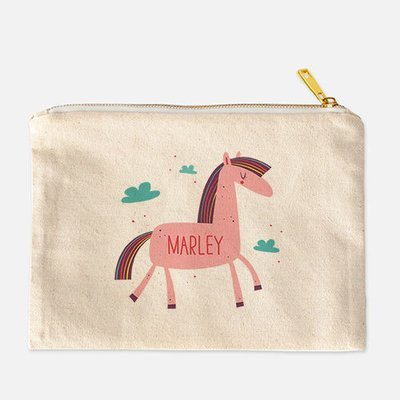 Horse in the Clouds Personalized Pencil Bag