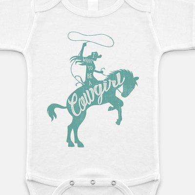 Baby Cowgirl Onesie