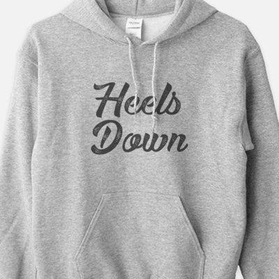 Heels Down Equestrian Hoodie Sweatshirt