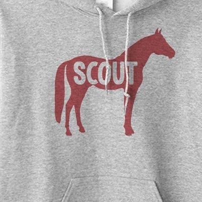 Custom Horse Name Equestrian Hoodie Sweatshirt
