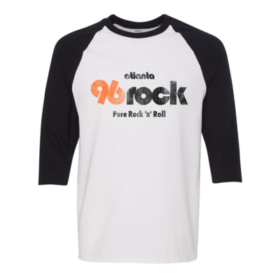 Vintage 96 Rock Raglan Baseball Shirt
