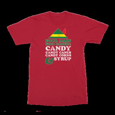 Four Food Groups T-Shirt