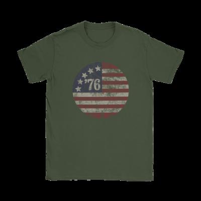 '76 Round American T-Shirt
