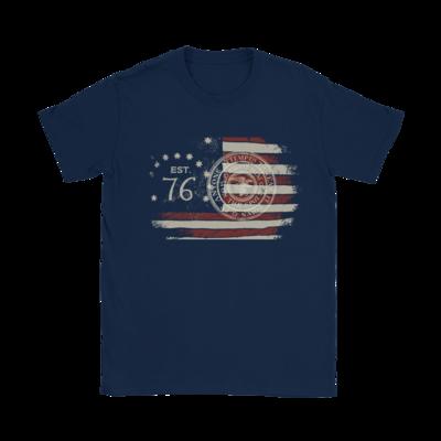 76 American Flag T-Shirt