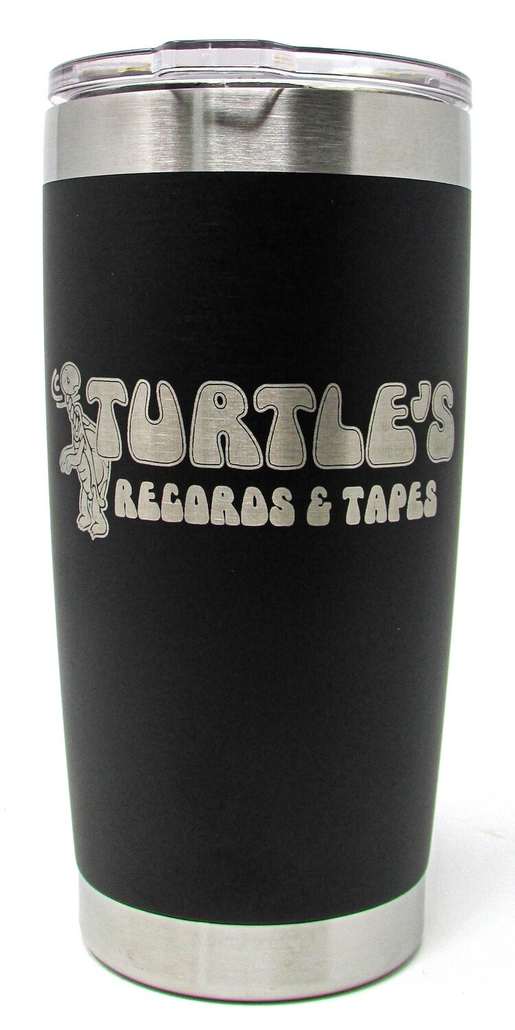Turtle's Records & Tapes Stainless Steel Tumbler