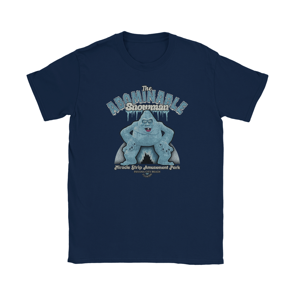 The Abominable Snowman Miracle Strip T-Shirt