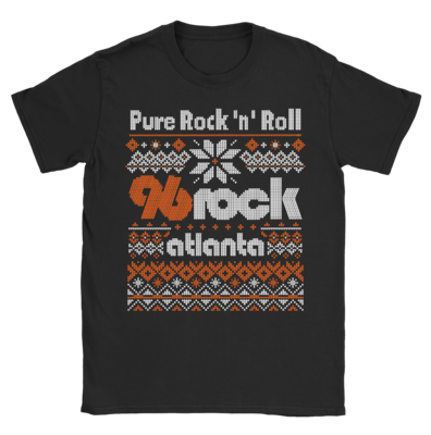 96 Rock Christmas Sweater Shirt