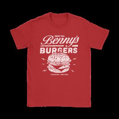 Benny's Burgers - Stranger Things T-Shirt