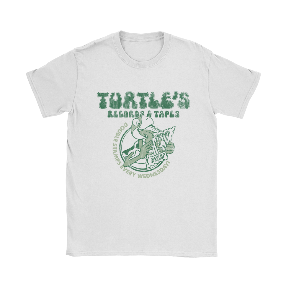 Turtle's Records And Tapes - Double Stamps T-Shirt