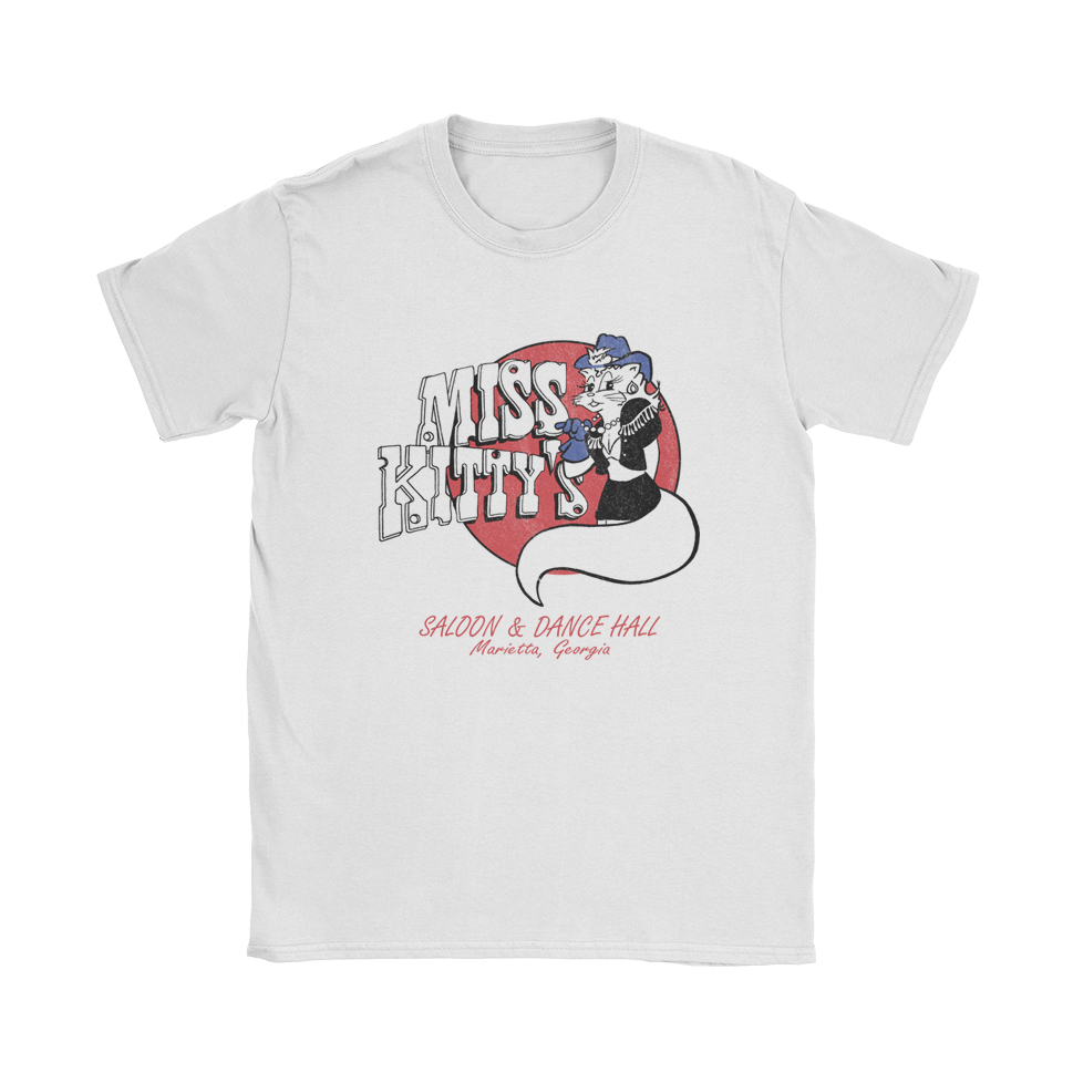 Miss Kitty's Saloon & Dance Hall Lady Kat T-Shirt
