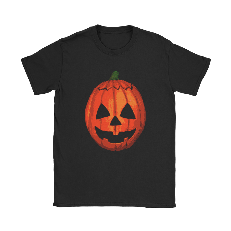 Halloween Pumpkin Mask T-Shirt