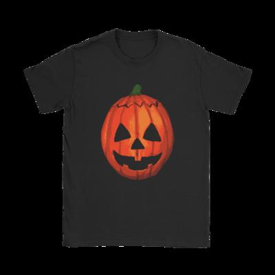 Halloween Pumpkin Mask T-Shirt