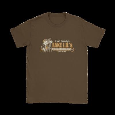 Fast Freddy's Fake I.D.'s T-Shirt