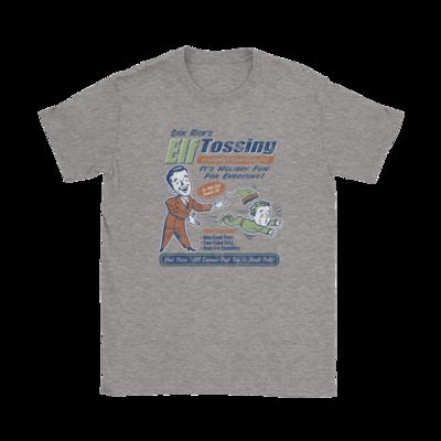 Sick Rick Elf Tossing T-Shirt