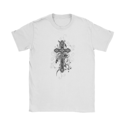 Ornate Cross T-Shirt