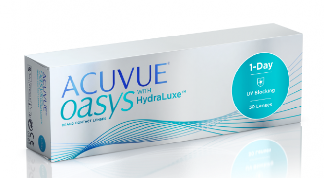 ACUVUE OASYS 1-Day with HydraLuxe™ Technology