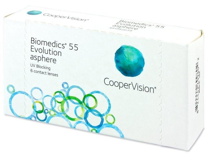 CooperVision Biomedics 55 Evolution